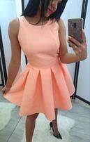 sukienka morela